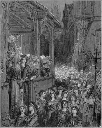 Gustave Doré, La cruzada de los niños